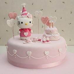 Birthday Celebration  Hello Kitty Cake