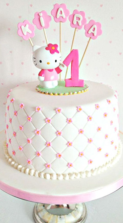 Pin Cushion Hello Kitty Cake