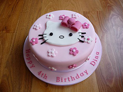 Classic Hello Kitty Cake