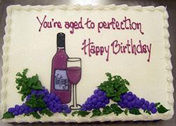 Aged Like Fine Wine Sheet Cake