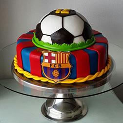 FC Barcelona Emblem Cake