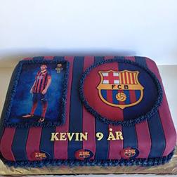 Neymar Jr. Photo Emblem Cake