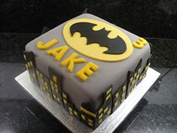 Batman Skylight Cake
