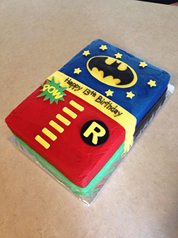 The Dynamic Duo Sheet Cake
