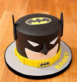 Batman Fondant Cake