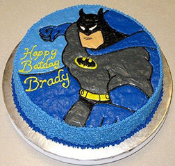 Batman TAS Action Cake