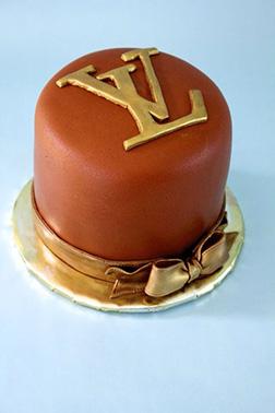 LV Logo Cake