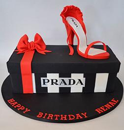 Prada Shoe Cake