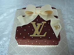 Louis Vuitton Gift Cake