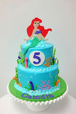 Elegant Mermaid Cake