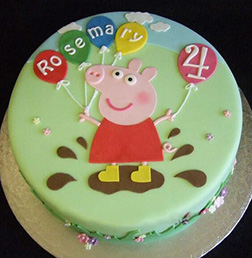 Peppa Pig Birthday Cake 2