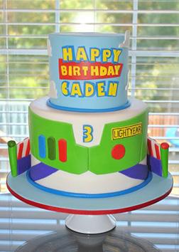 Buzz Lightyear  Suit Cake
