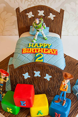 Buzz, Woody & Jessie Cake