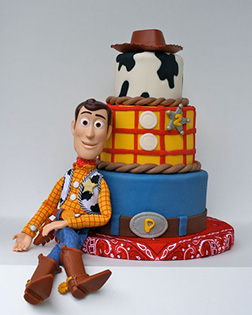 Hats Off Woody Cake