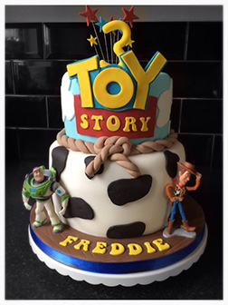 Toy Story Heroes Cake 1