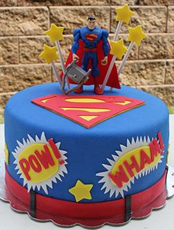 Clark Kent's Alter Ego Cake