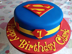 Superman Suit Cake