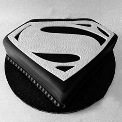Man Of Steel Cake