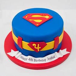 Superhero Costume Cake