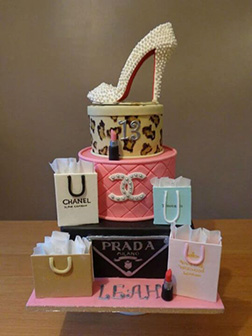 Shopaholic's Tiered Dream Cake