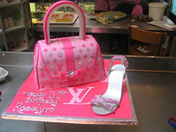 Louis Vuitton Shoe & Bag Cake