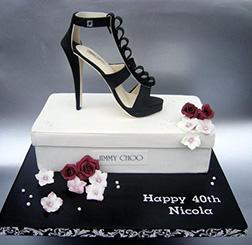 Jimmy Choo Shoe Cake 2