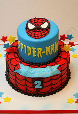 Spiderman Suit Cake