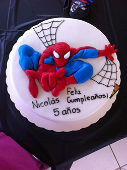 Hero Within - Spiderman Cake