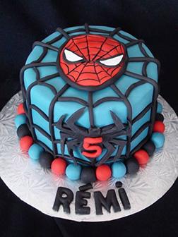 Spiderman Art Cake 3