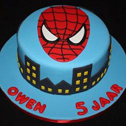 Spiderman Mask Cake 5