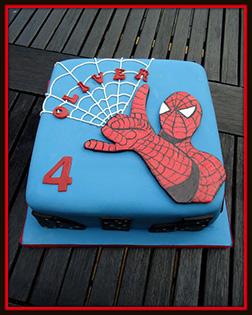 Spiderman Artcake 1