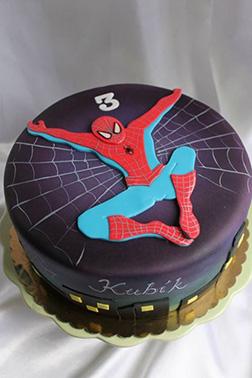 Spiderman Art cake 2