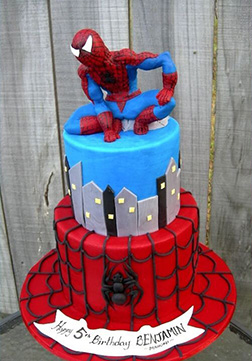 Neighbourhood Watch Spiderman Cake