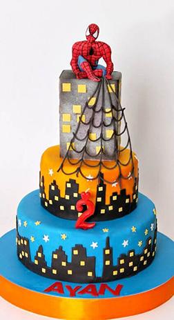 WebSligner Tiered Cake