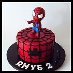 Baby Spiderman Cake