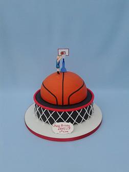 Dedicated Player Ball Cake