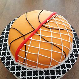 Basket and Ball Cake 2