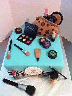 MAC Makeup Cake 6