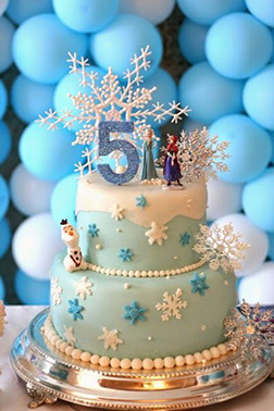 Disney Frozen Themed Cake 3