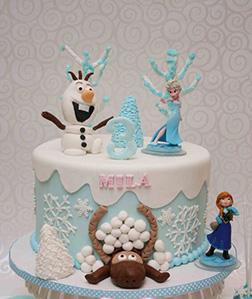 Disney Frozen Themed Cake 2