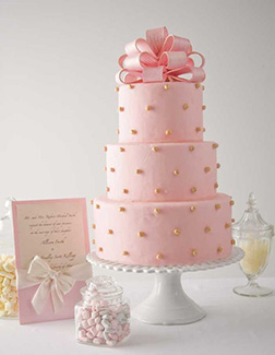 Perfectly Pink Cake