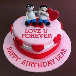 Love U Forever Cake