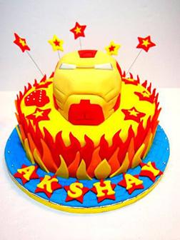 I Am Iron Man Cake