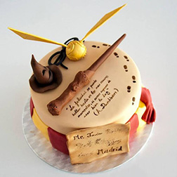 Harry Potter Marauder's Map  Cake