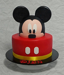 Mickey Mouse 3D Cake 2