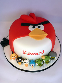 Big Red and Friends Angry Birds Cake