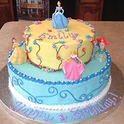 Magical Princesses Tiered Cake