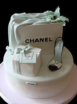 Chanel Shoe Shopping Cake