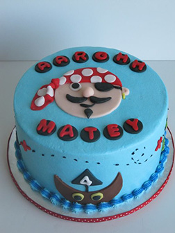 Aarghh Matey! Pirate Cake