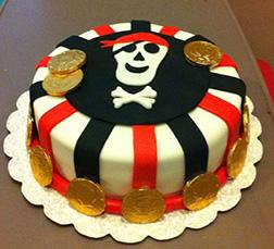 Treasure Trove Pirate Cake
